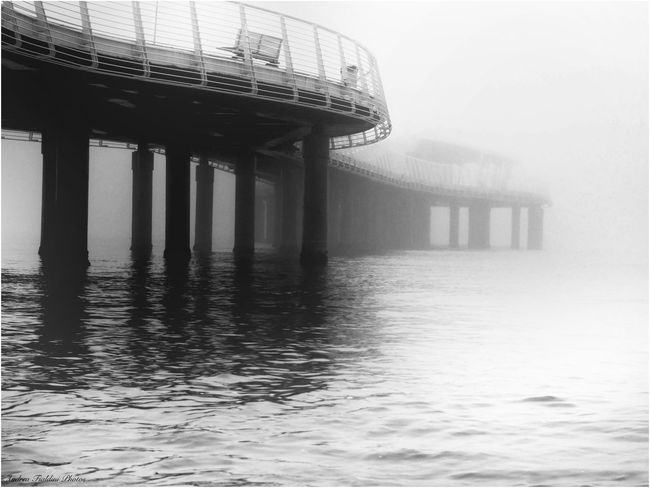 Architecture B&w Biancoenero Biancoenerophoto Blackandwhite Built Structure Day Italy Landscape Landscape_Collection Lido Di Camaiore Nature Nebbia No People Outdoors Sea Sky Toscana ıtaly Tranquil Scene Tranquility Tuscany Tuscany Landscape Versilia  Water Waterfront