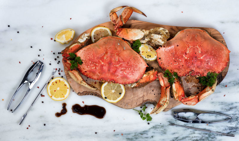Freshly cooked crab for dinner Close-up Crab Dinner Food Food And Drink Freshness Meat Ready-to-eat Seafood