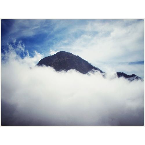 Rinjani Trekking Adventure Clouds Mountains Home Sky Hello World Taking Photos Rethinkyourlife