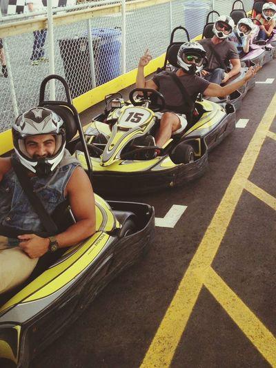 Racing for pinks Vancouverisland Vancouver Island Go Karting Birthday