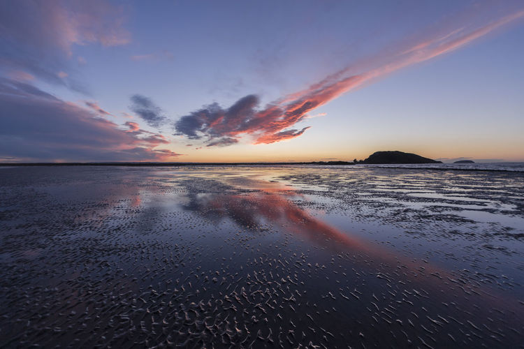 Weston-super-Mare Sunset Brean Down Reflection Weston-super-mare Beach Beauty In Nature Cloud - Sky Day Horizon Over Water Low Tide Nature No People Orange Color Outdoors Scenics Sea Sky Sunset Tranquil Scene Tranquility Water