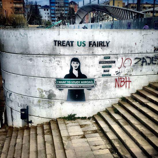 Newbridge Mitrovica Streetphotography Streetart Kosovo