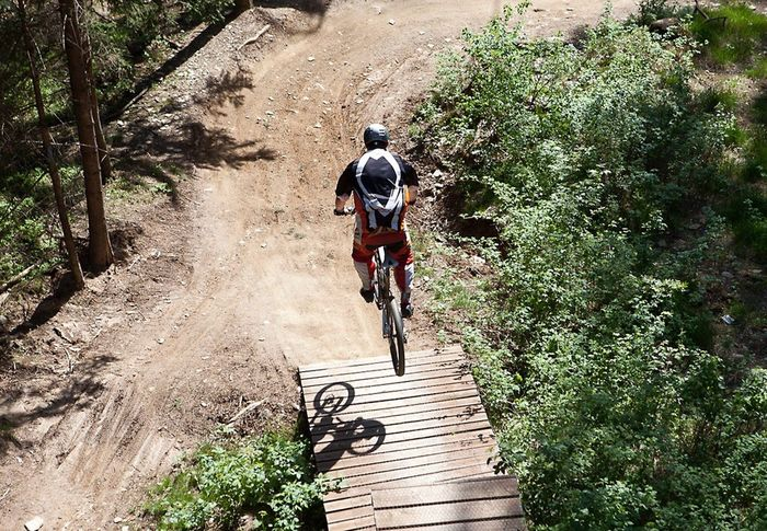 Photography In Motion Motion Sport Bycicle Free Ride Mountain Biking Nature Lipno Original Experiences A Bird's Eye View CyclingUnites Breathing Space