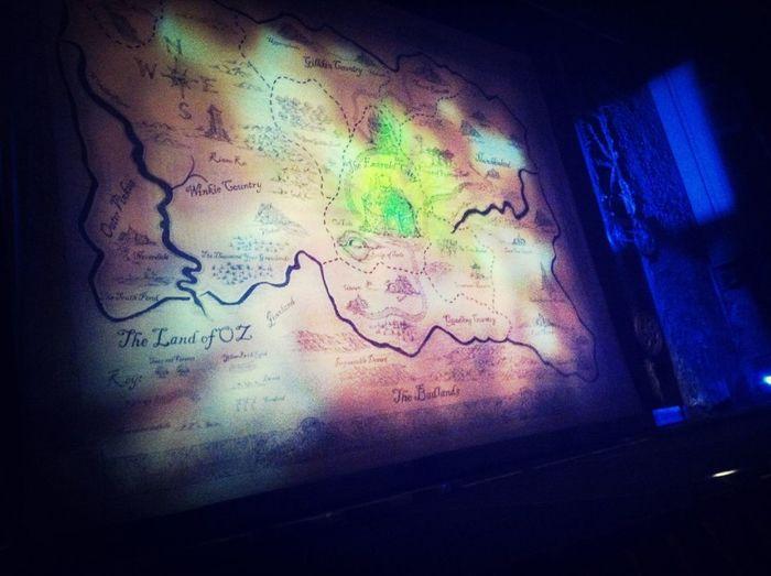 Wicked was amazing. They got rid of the first 2 rows so we were really in the 2nd row :)