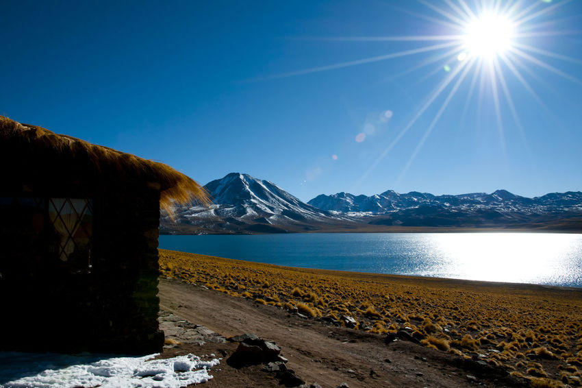 Miscanti Lagoon Chile Atacama Lagoon Miscanti San Pedro De Atacama Scenics - Nature