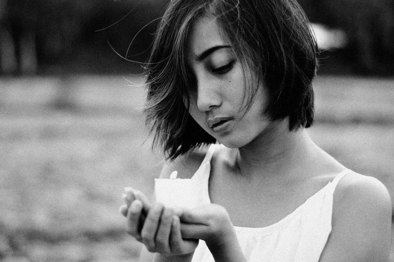 Limited Life • https://www.instagram.com/ynonsia Asian Girl Showcase July EyeEm Gallery EyeEm Fine Art Photography Feeling The Week Of Eyeem Candle Blackandwhite  Close-up EyeEm Best Edits (null) The Portraitist - 2016 EyeEm Awards EyeEm Best Shots Faded Girl Memories Portrait Black And White (null) Portrait Of A Woman