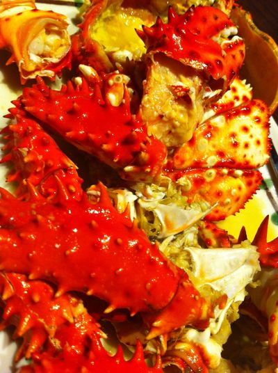 My World Of Food Crabs Hanasaki カニ 蟹 花咲かに Seafoods Red Macro Beauty
