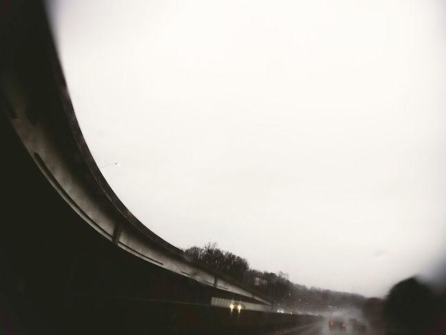 Loop Atlanta Cityscape Rainy Days Exit Loop