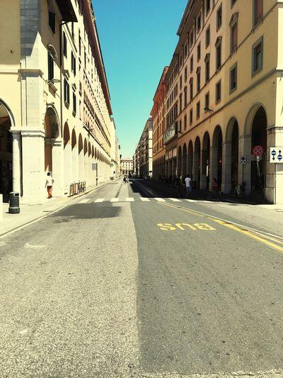 Livorno Italy Empty Road