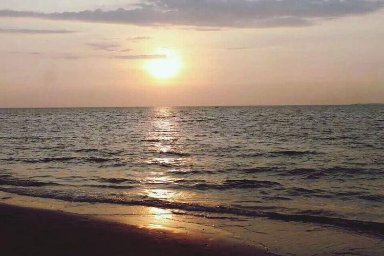 Sunset | Beach. ? Relaxing Taking Photos Enjoying Life Hello World