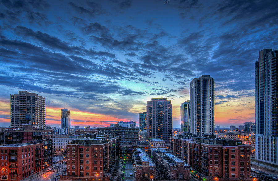 Chicago Chicago Architecture Sunset Sunset_collection Sky_collection Urban Landscape Cityscapes