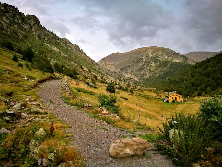 Mountain Landscape Scenics No People Outdoors Rural Scene Nature Beauty In Nature Tranquility Andorra🇦🇩 Lost In The Landscape Perspectives On Nature