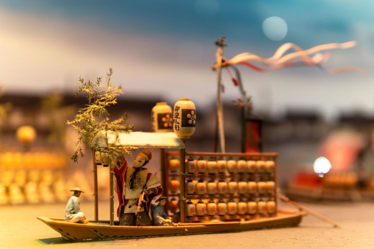 I love this picture. Ancient Art And Craft Creativity Japan Japanese Culture OSAKA Travel Art Boat Bokeh Close-up Education Exhibition Figurine  History Human Representation Model Museum Representation Selective Focus Small The Past