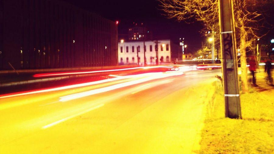 Night Lights Cars Lights Night In The City Training Night
