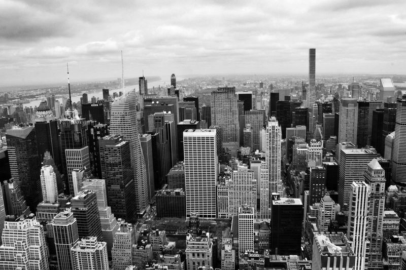 Skyline ... New York from the Empire State Building one of the world's best Cityscape Skyscraper Architecture Urban Skyline EyeEm Best Shots - Black + White Blackandwhite