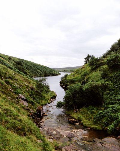 Countryside in Wales Countryside Country Wales Nature Reservoir Escape Remote Wilderness