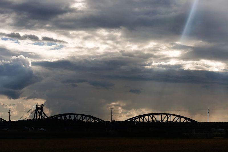 Sunset Portugal Alcacer Do Sal Cloud - Sky Sky Architecture Built Structure Nature Bridge No People