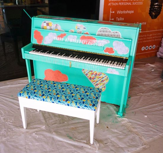 Handpainted pianos. Aren't the colours just gorgeous? Piano nStreetpiano nThings I Like Colour Of Life Piano Moments