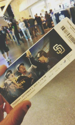 Sandiego Padres Baseball Baseball Game Fun Funday Hanging Out Relaxing Enjoying Life Check This Out