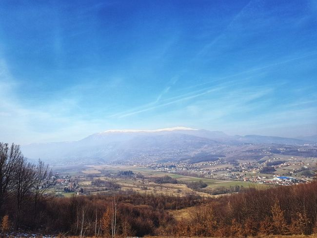 hiking mountain Walley Hiking Training Fresh Air Sky Mountain Landscape No People Outdoors Mountain Range Day Scenics Nature Tree Beauty In Nature Cloud - Sky Blue Freshness Astronomy Cold Temperature Rural Scene Winter Cityscape City