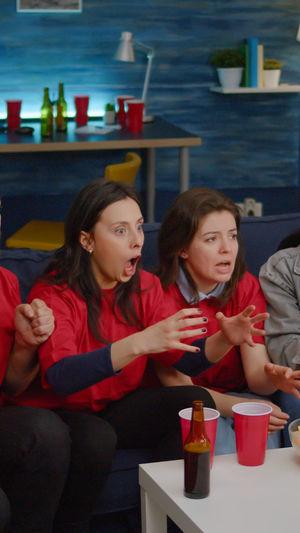 Women sitting in restaurant