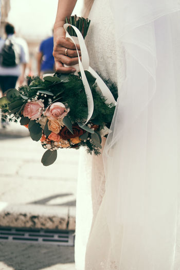 bride with