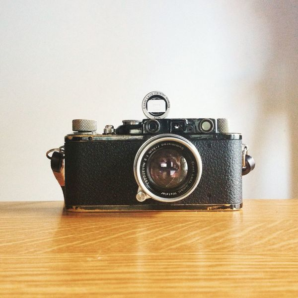 Leica Leicacamera Couplex Elmar 1932 Filmisnotdead Filmcamera Vintage