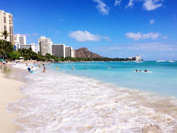 Architecture Sea Beach Water City Paradise Scenery Hotel Ocean Sand Landmark Diamondhead Hawaii Mountain Vacations Lanscape Honolulu, Hawaii Luckywelivehawaii Tourist Attraction  Oahu, Hawaii Waikiki Beach 808state Leisure Activity