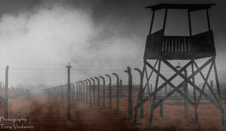 Auswitch Cruelty Dying Evilmaster Fence Horrifying No Escape No Hope No People Outdoors Poland Protection Sadness Terrifying Wars