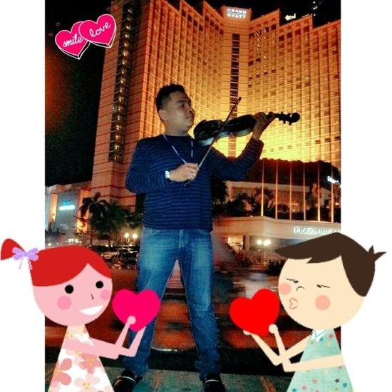 Muzik is love. I am love cika cinta