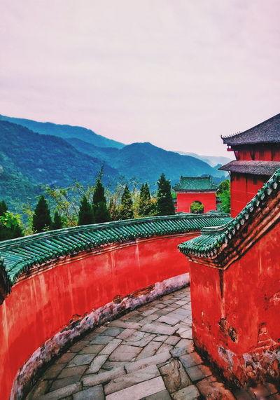 武当山 Wudangshan China Traveling Daytime Outdoors Mountain PhonePhotography Day