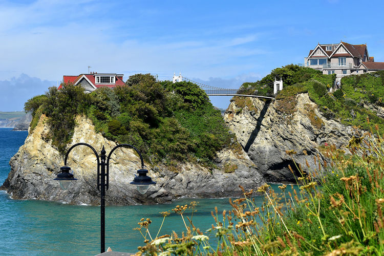Architecture Beach Life Beach Photography Beach Walk Janlyn Mode Lamp Post Newquay Beach Ocean View Rock Formation Beach Beachphotography Beachphotography Popular Photos Beauty In Nature Bridge - Man Made Structure Bridge Of Sighs Building Exterior Built Structure House On The Rock Island No People Ocean Outdoors Rocks And The Sea Rocks And Water Sea And Sky