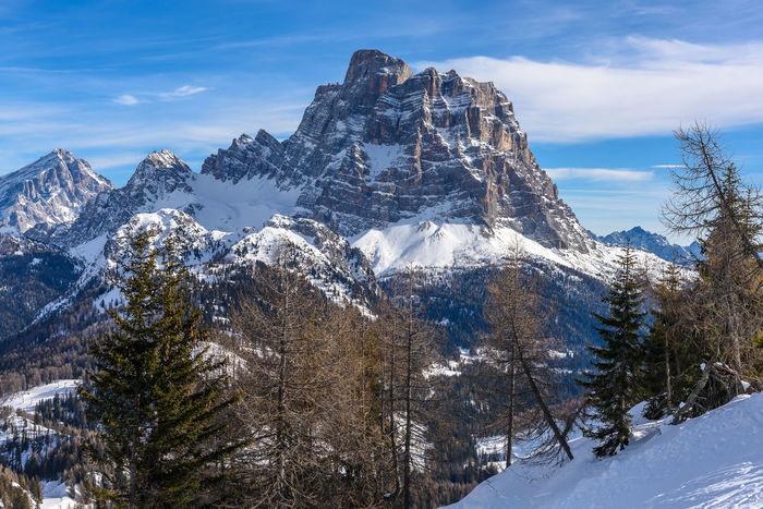 Alpine Dolomites, Italy Monte Pelmo Winter Alleghe Alps Italy Mountain Veneto