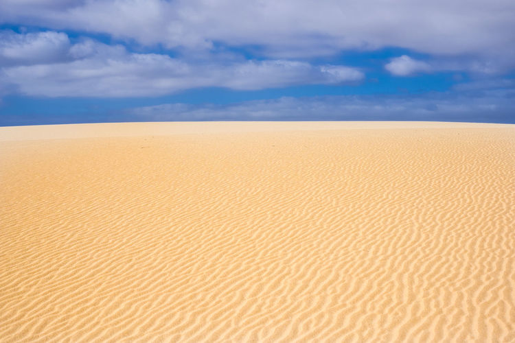 desert dunes in Fuerteventura Canary islands Canary Islands Dunes Freedom Fuerteventura Vacations Adventure Arid Climate Beauty In Nature Cloud - Sky Day Desert Journey Landscape Nature No People Outdoors Pattern Sand Sand Dune Scenics Sky Solitude Summer Tranquil Scene Tranquility