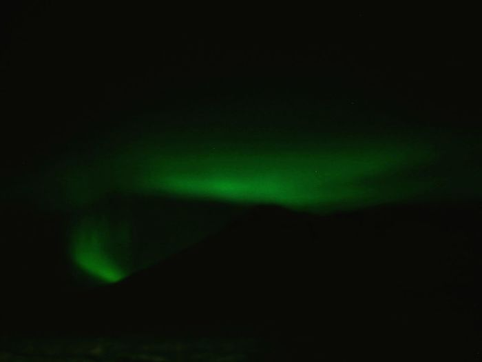 Aurora in Iceland ❤ Iceland Aurora Nature Green Color Backgrounds Black Color Beauty In Nature Nature Ethereal No People