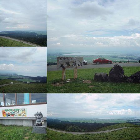 秋田山形日記 DAY 2 寒風山① ナビ子さんを使いつつも道に迷い、だけど山道をぐんくん走って、やっとたどり着いた目的地【寒風山】です🏔🚙💦 標高は355mほどの低山でありながら、秋田の街や海、山々がまるっと見渡せるほど、眺望がすばらしい山です👀✨ なので、パノラマ写真で撮ったりしました📱✨ 風が強かったけど、かなり遠くまで眺望できてよかったです😊👍🏼 しばし景色を楽しんでから、まずは腹ごしらえと参りましょうか。笑🍽😋 つづく。 秋田山形日記 秋田 旅行記 旅行 旅 寒風山 寒風山回転展望台 山