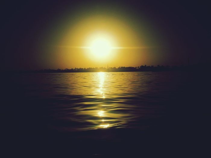 Sun Set Boat