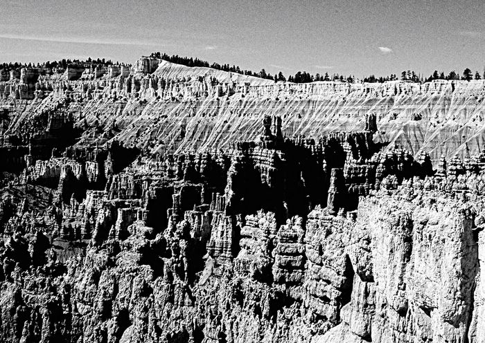Natural Form Brice Canyon Light And Shadow Landscape Black And White Landscape_Collection Landscape_photography