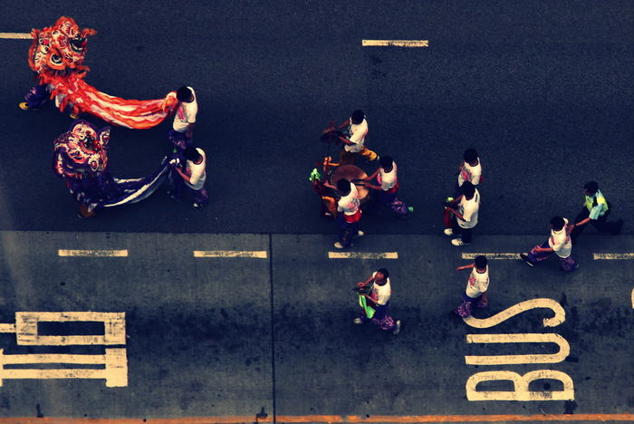 DailyLifeOfStrangers Streetphotography EyeEm Best Shots Everyday Joy Asian Culture The Human Condition Aerial Shot
