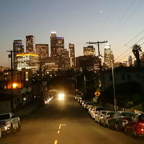 Los Angeles, California Nightphotography Hollywood Hello World Losangeles Sky_ Collection