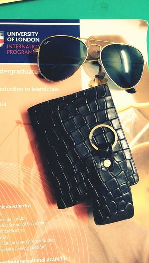 And finally crocodile skin :) Relaxing My New Wallet  Sunglass  My Book