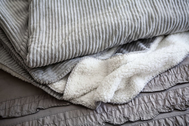 Bedroom Blanket Cuddles Duvet Grey Home Home Sweet Home Indoors  Soft Texture