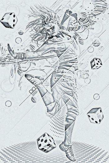 Dancing Dance Drawing :)