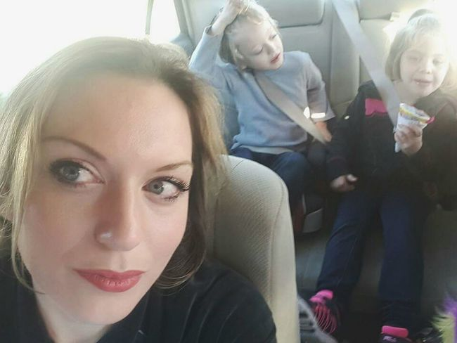 Keeping watch for the next misadventure... Car Ride Gone Wrong Road Trip Riding In Cars With Kids Kids Being Kids Mobile Photography Misbehavior Car Ride  Road Tripping Kids Showcase: February Kids In The Background Kids In The Back Seat Kids In The Backseat Booster Seat Interior Views