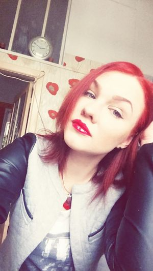 Red Lips Red Redhead Redhair Redlipstick RedMe That's Me