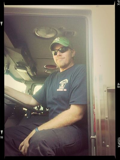 Firefighter Brothers Firetruck