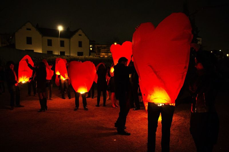 red heart lantern Heart Nikon Work Nikonphotography Lifestyles Streetphotography Nikonphotographer Wedding Ceremony Wedding Photography Wedding Day Togetherness Women Red Men Illuminated Flame Lantern Burning Heat - Temperature Celebration Chinese Lantern Festival Chinese Lantern Paper Lantern New Year