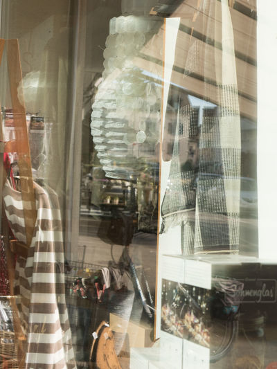 Schaufenster Window Reflection Transparent Glass - Material Store Retail  Shopping Store Window Retail Display Real People Women Indoors  Adult Incidental People Mannequin Day Business Lifestyles People Men Digital Composite Consumerism Glass