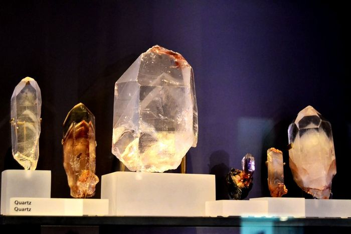 Each individual is unique in its own way. Quartz Museum Visit Precious Gem EyeEm Selects Indoors  No People Close-up