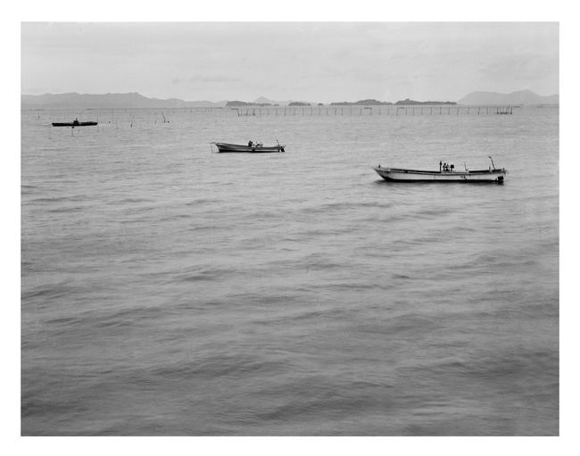 Beauty In Nature Black & White Black And White Blackandwhite Boat Day Horizon Over Water Korea Mode Of Transport Nature Nautical Vessel No People Outdoors Sailing Scenics Sea Ship Sky Tranquility Transportation Water
